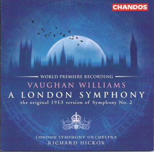 CD cover, RVW Symphony No. 2
