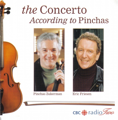 Pinchas Zukerman and Eric Friesen